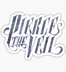 Pierce The Veil Logo V.Marble  Sticker