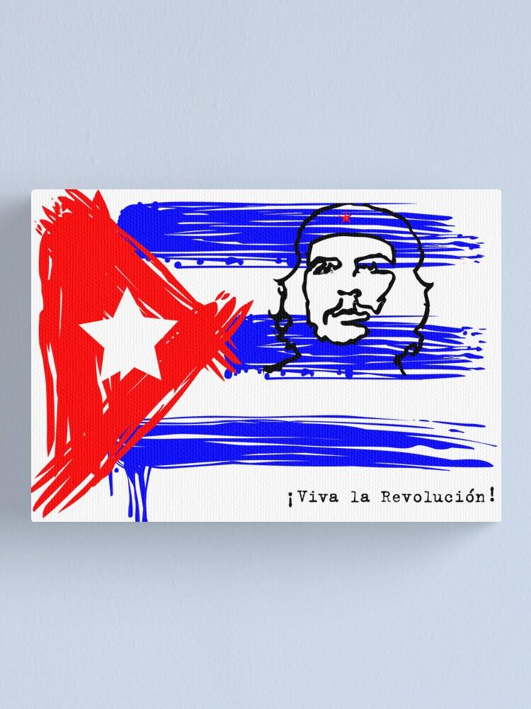 Alternate view of Viva la Revolucion! Canvas Print