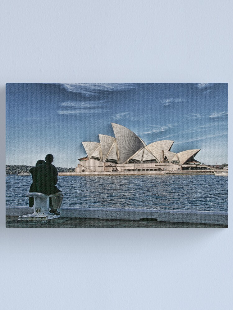 Alternate view of Sydney Opera House Canvas Print
