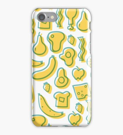All the foods! iPhone Case/Skin