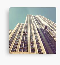Lámina metálica Empire State Building