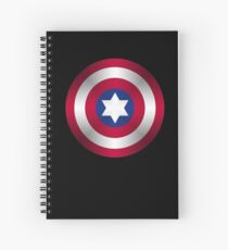 Truth & Justice (Jewish Cap Shield for DB) Spiral Notebook