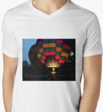 Evening Balloon Glow V-Neck T-Shirt