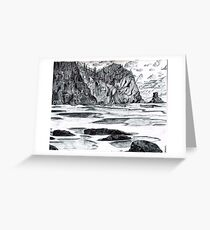 Smuggler's Cove Oregon Greeting Card