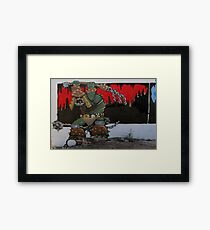 Not a Nice Guy in South Tucson Framed Print