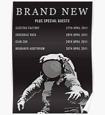 Brand New - 2011 Tour Poster Poster
