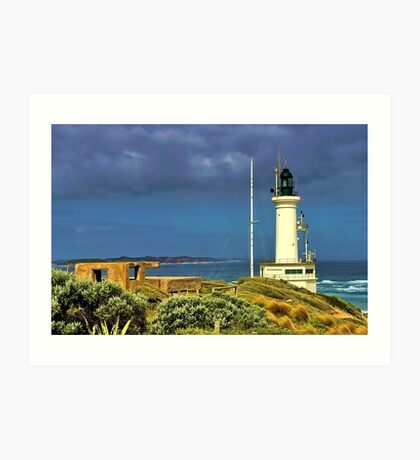 Another Windy Day at the Heads Art Print