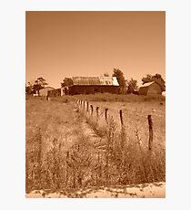 Retro Acres Photographic Print