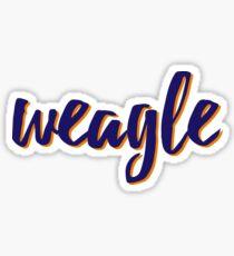 WEAGLE Sticker