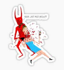 Your Last Post Sticker