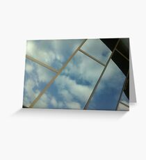 reflective mood Greeting Card