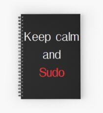 Sudo Penguin Spiral Notebook