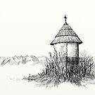 Mountain Shrine by przezajac