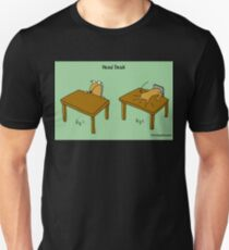 Head Desk Unisex T-Shirt