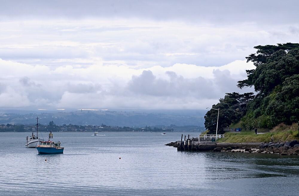 Pilot Bay, Mount Maunganui by Judy Harland