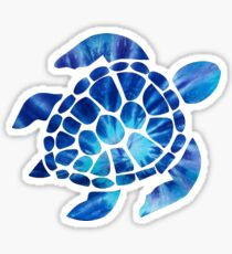 Tye Dye Turtle Sticker