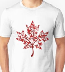 Canadian Maple Tree Unisex T-Shirt