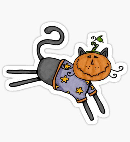 Pumpkin head Sticker