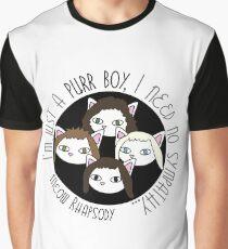 Meow Rhapsodie 3 Grafik T-Shirt