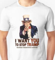 I Want You To Stop Trump Unisex T-Shirt