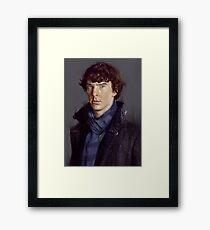 Sherlock Holmes (Benedict Cumberbatch) Framed Print