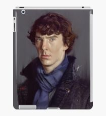 Sherlock Holmes (Benedict Cumberbatch) iPad Case/Skin