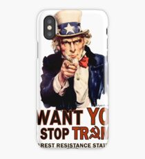 I Want You To Stop Trump iPhone Case
