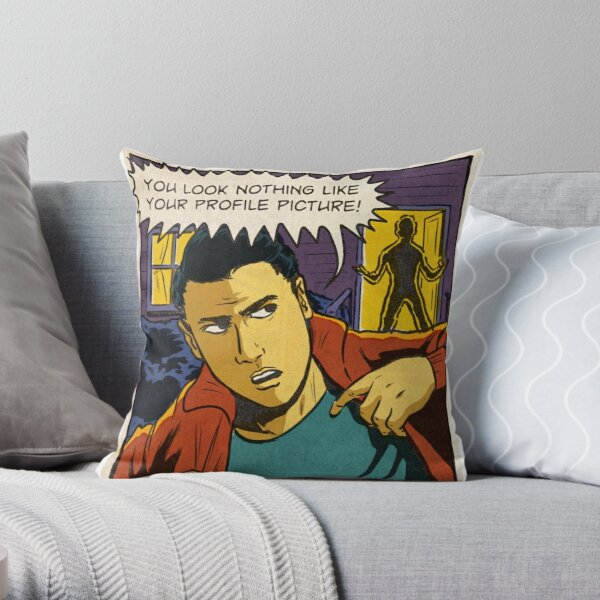 I'm leaving! Throw Pillow