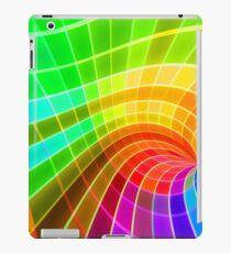 Unique Colorful Rainbow Swirl iPad Case/Skin