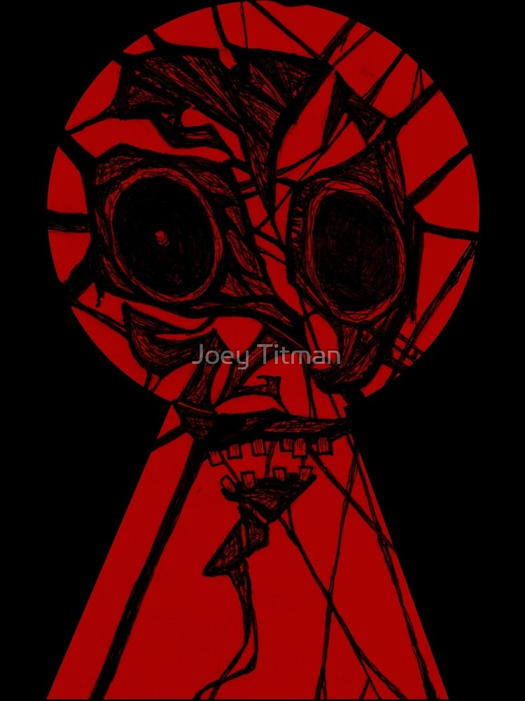 Key Hole Monster by Joey Titman