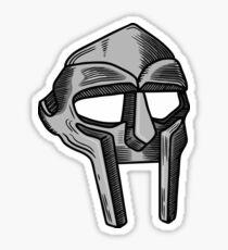 MF Doom Mask Sticker