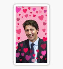 I <Heart> Justin Trudeau Sticker