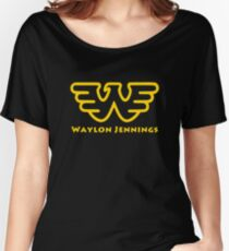 Waylon Jennings Women's Relaxed Fit T-Shirt