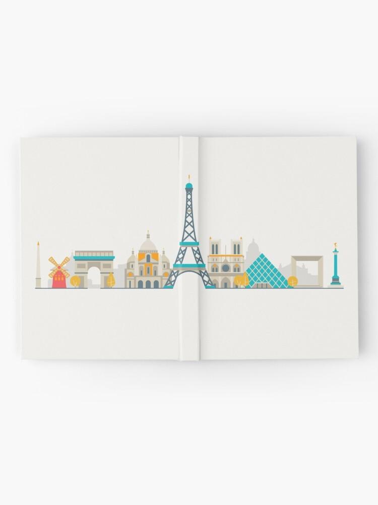 Alternate view of Paris Hardcover Journal