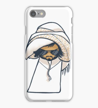 Cool Arabic Man in Sunglasses and Kandora iPhone Case/Skin