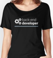 Back-End Developer Women's Relaxed Fit T-Shirt