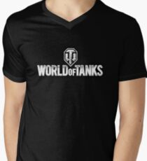 World of Tanks Men's V-Neck T-Shirt