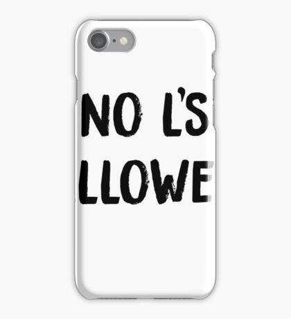 no Ls iPhone Case/Skin