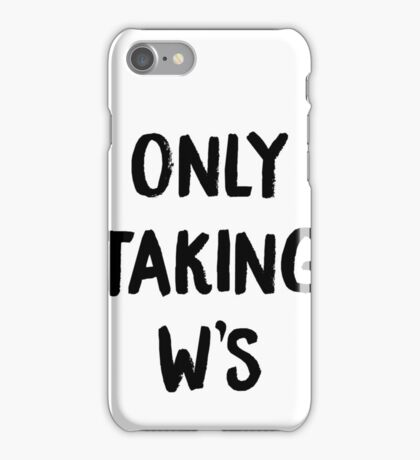 W's only  iPhone Case/Skin