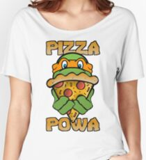 Pizza Powa - Mikey Women's Relaxed Fit T-Shirt