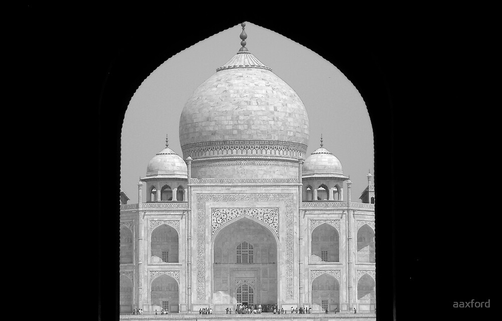 Taj Mahal, India by aaxford