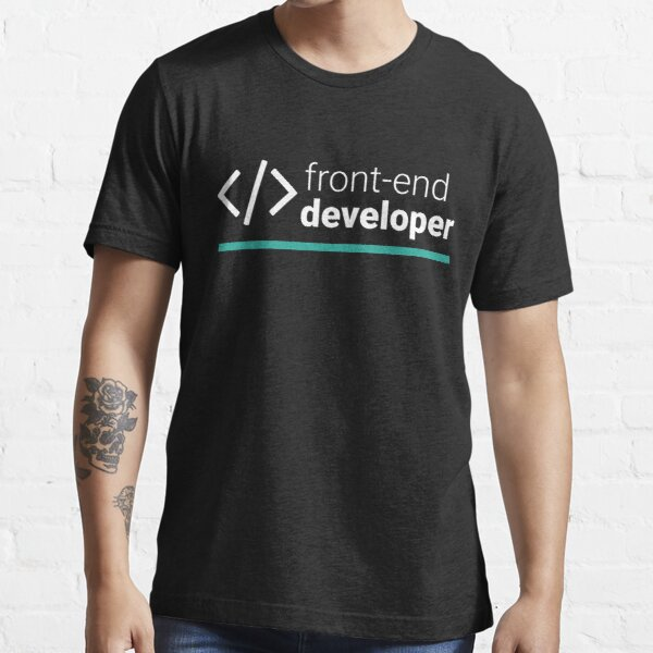 Front-End Developer Essential T-Shirt