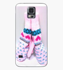 ❅☃✨♥Winter Love Story: Lean On Me - Cute  Mittens♥✨☃ Case/Skin for Samsung Galaxy
