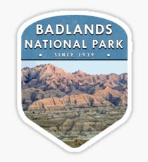 Badlands National Park 2 Sticker