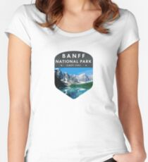 Banff National Park 2 Women's Fitted Scoop T-Shirt