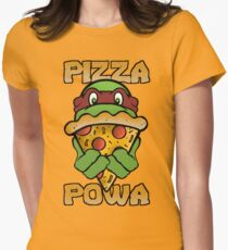 Pizza Powa - Raph Womens Fitted T-Shirt