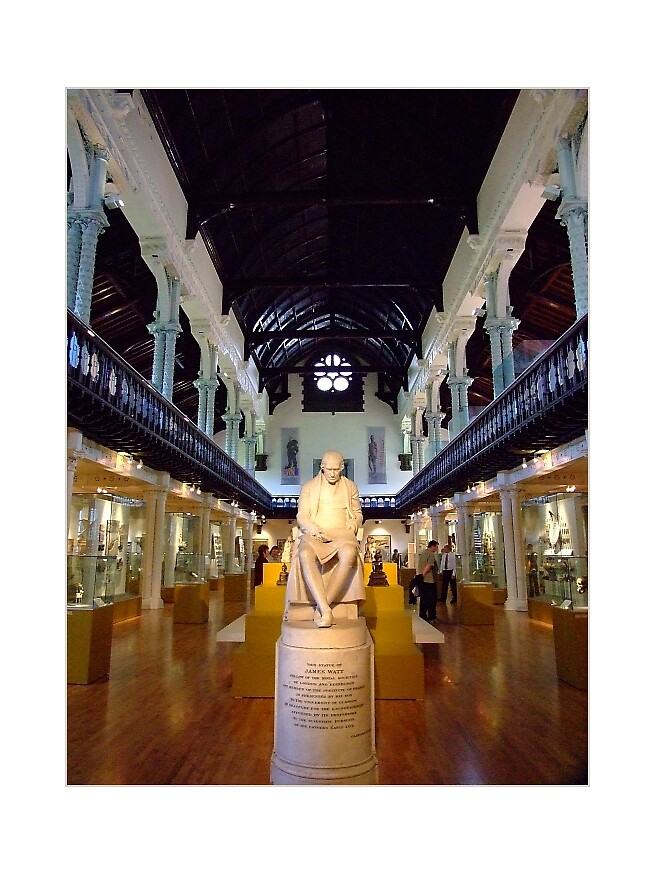 Hunterian Gallery by Susan Dailey
