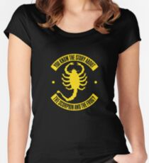 Scorpion Animal Women's Fitted Scoop T-Shirt