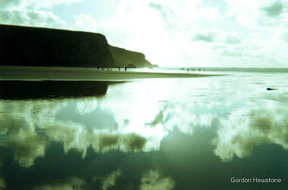 Evening on Morgan Porth Beach by Gordon Hewstone