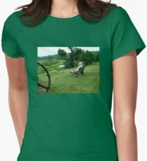 Ringwood Manor - A View of the Grounds and History Women's Fitted T-Shirt